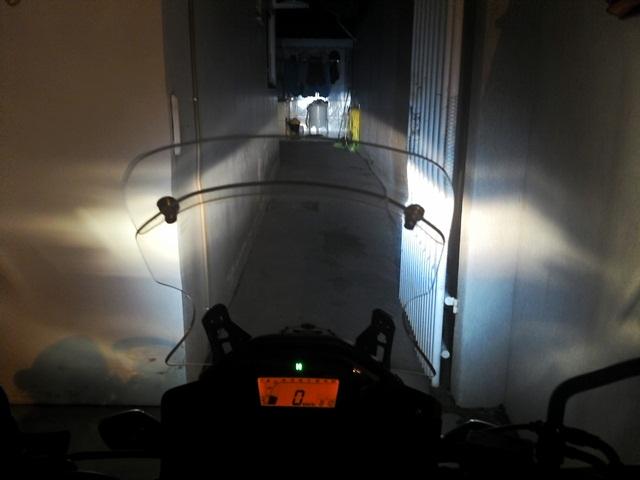 Iluminação adicional (Farol Auxiliar) Vpuu54