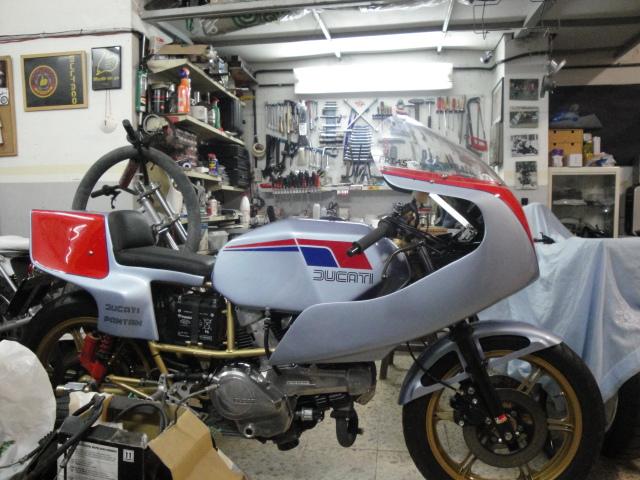 Mi Ducati Pantah 600 Endurance Vwxu1w