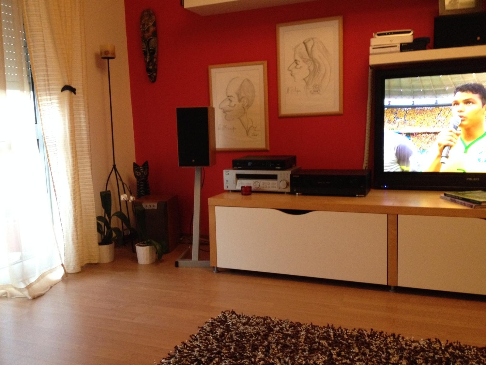 Posicionamento de colunas para Stereo Vytv91