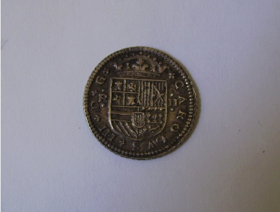 2 Reales Carlos III (el Pretendiente) 1708 Barcelona Wu10qp