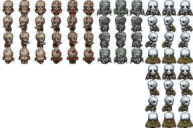 Varios Charas de Zombies Wu2gza