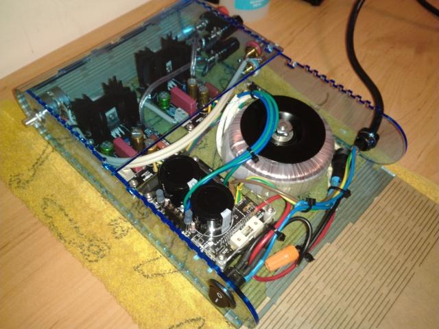 Kit amplificador HUM X3e23q