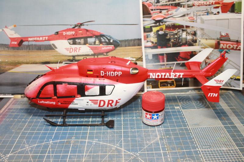 Airbus EC145 DRF Luftrettung (Revell 1/32) 102s6ll