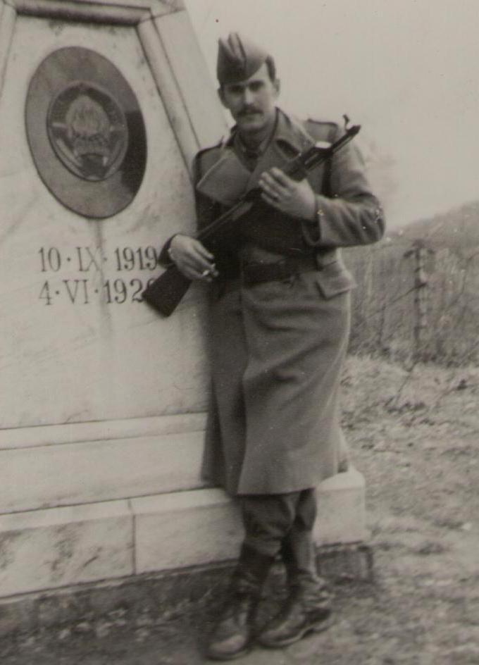 Karaula Trdkova, tromeđa  104olsg