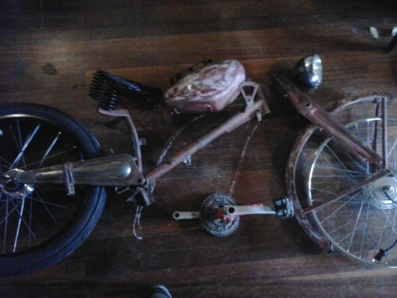 Bicicleta eléctrica a partir de moto Guzzi (+sidecar??) 106bgwh