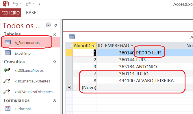 [Resolvido]Atualização automática na importação Access Excel 11j91zb