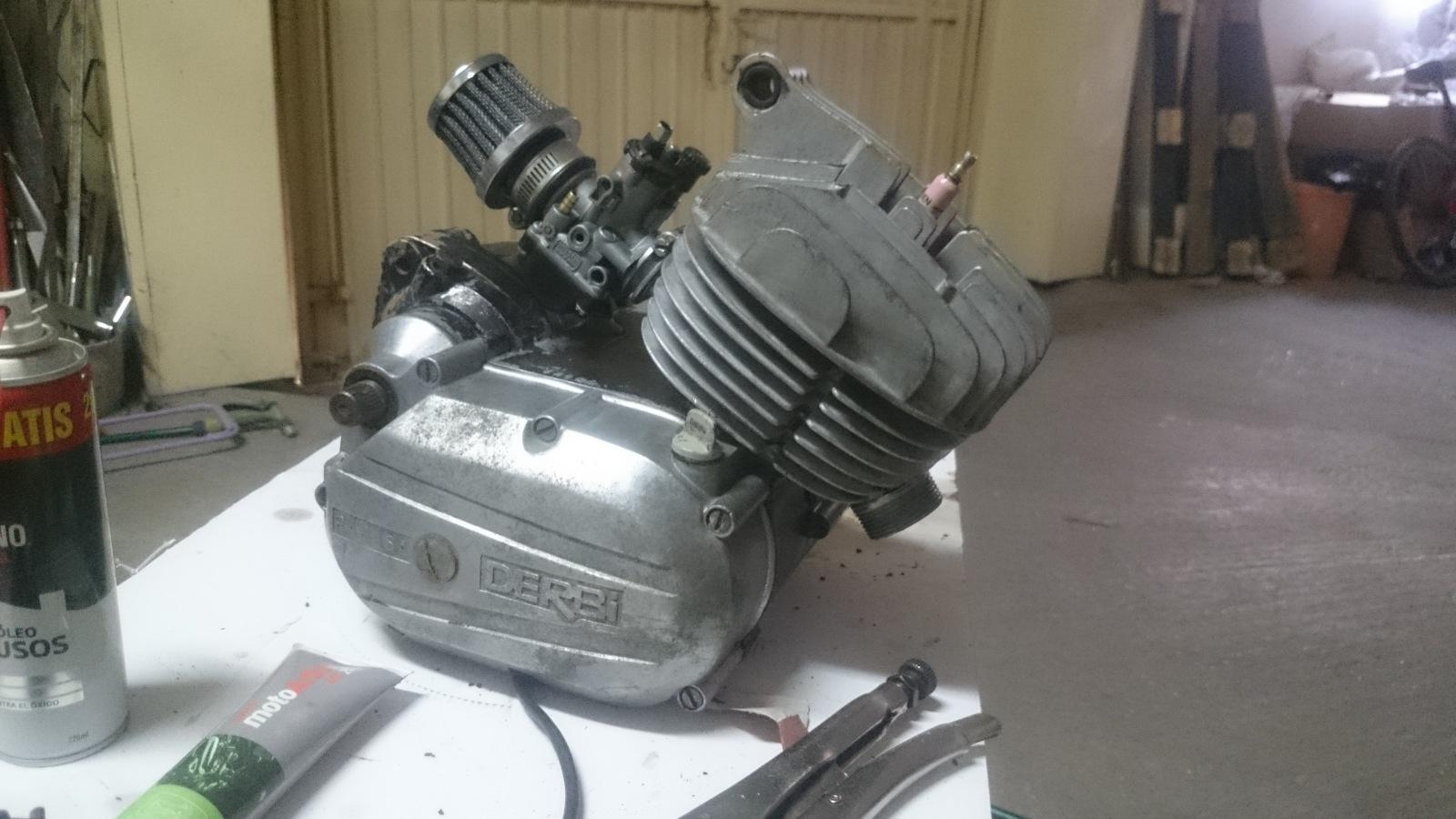 Equipo motor GILARDONI Derbi 4V 121x5xe