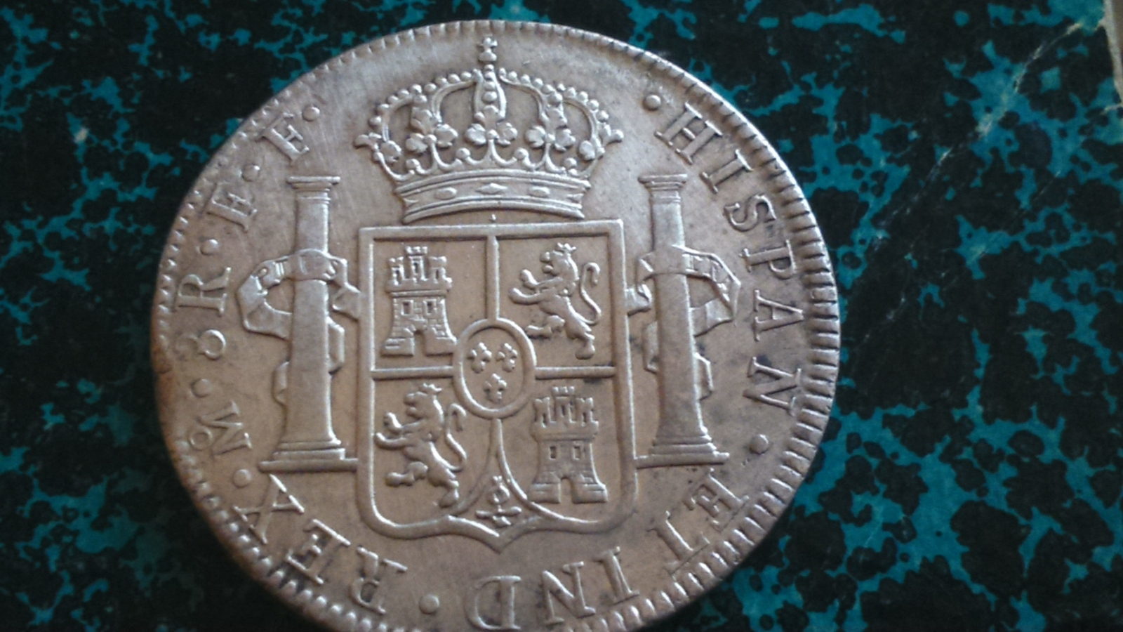 8 reales 1778. Carlos III, México FF 14ayhqa
