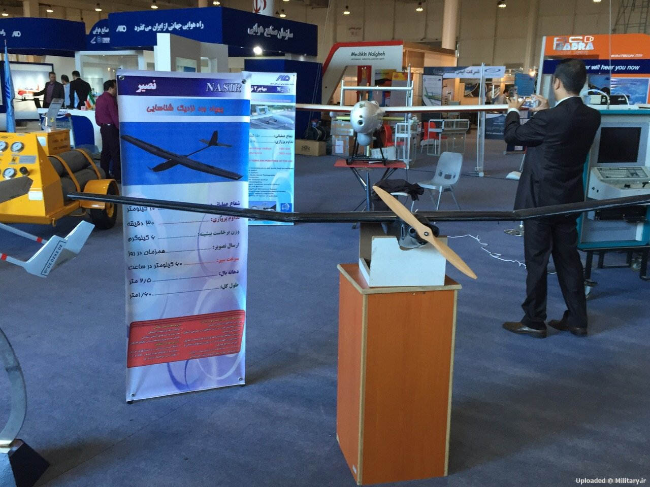 Iran's indigenous UAVs 157j9k2