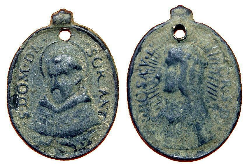 Proyecto recopilación medallas Santo Domingo de Guzmán  1gi2d2
