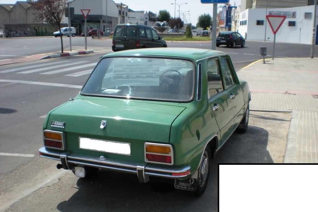 Los colores de los Renault Siete y 7 1glojm