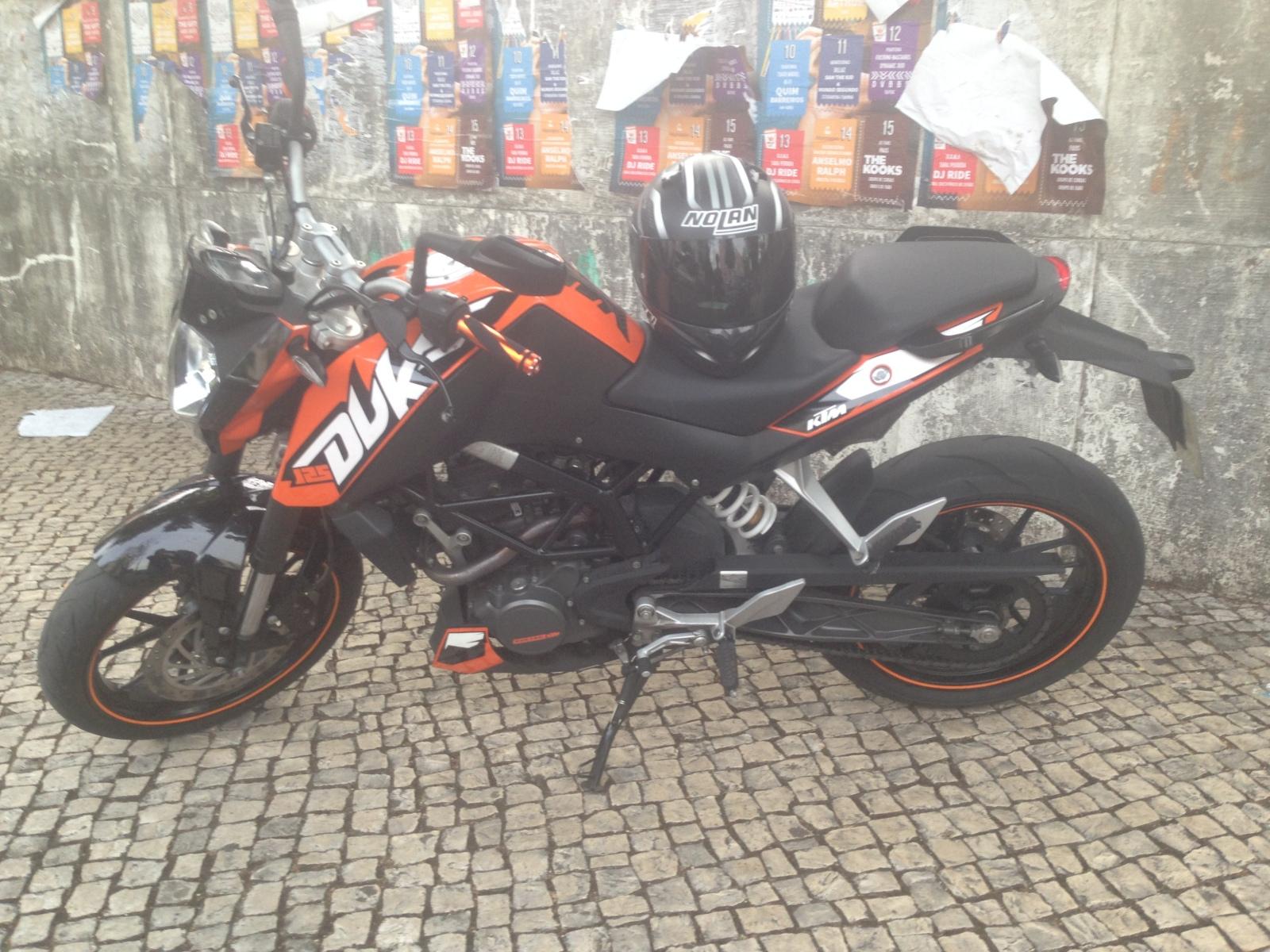 KTM Duke 125 Coimbra 1r56ps