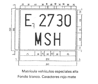 Placas de matrícula 20afb83