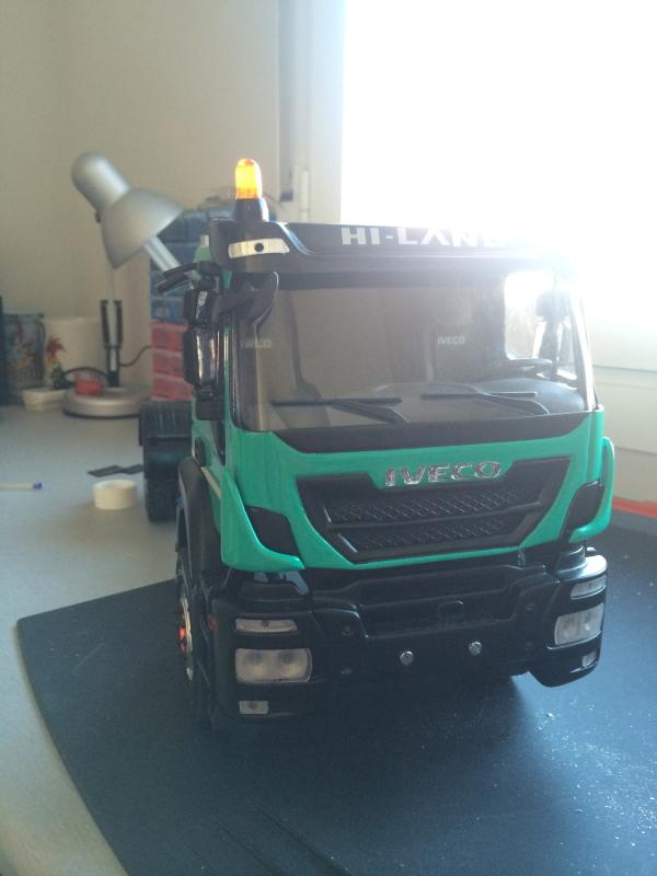 Iveco Trakker 4x4 multilift 23m4o68