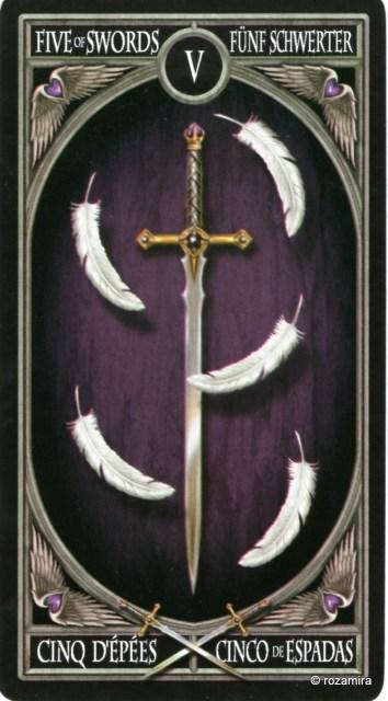 Готическое Таро Анны Стокс /Anne Stokes Gothic Tarot   (скан карт) 23rlhed