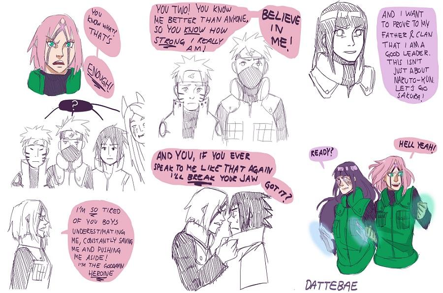 Hinata é a segunda personagem mais importante de Naruto? 24xosia