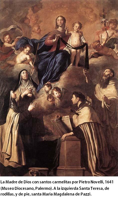 Santa Teresa de Jesús / Santa María Magdalena de Pazzi ( R.M.  SXVIII-O260) 25qx8no