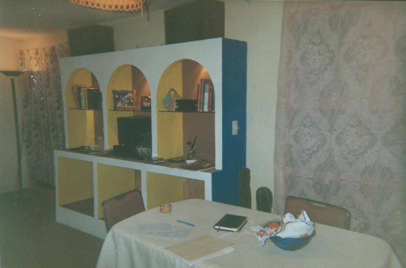 Mueble, gabinete y arcos, hechos con Tablaroca 2608s3q