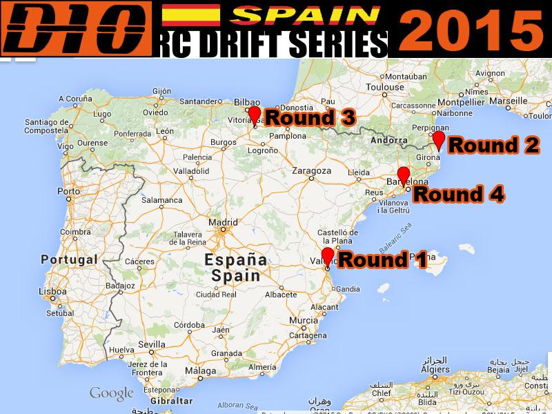 D1-10 Spain Drift Series 28by6pl