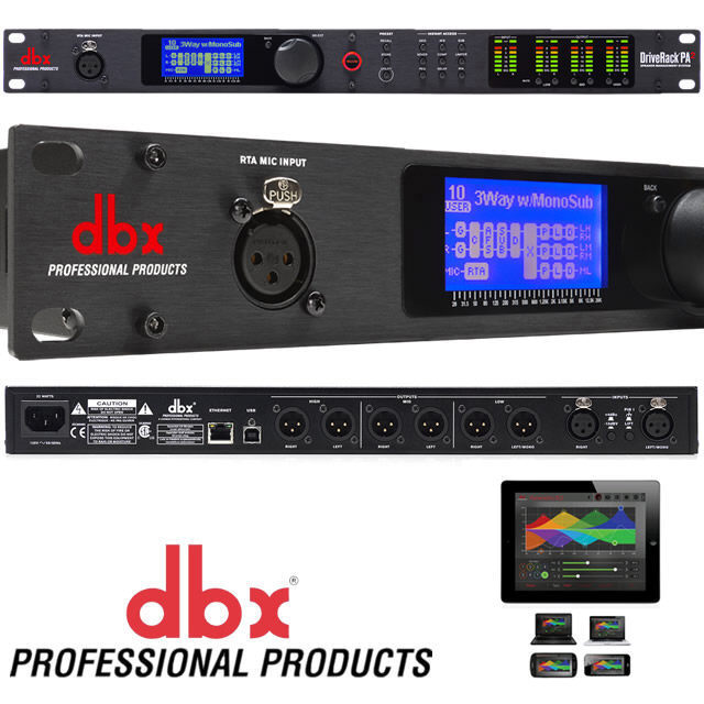 Procesadores : Behringer DCX2496  vs  DBX Driverack PA2 28rku8x