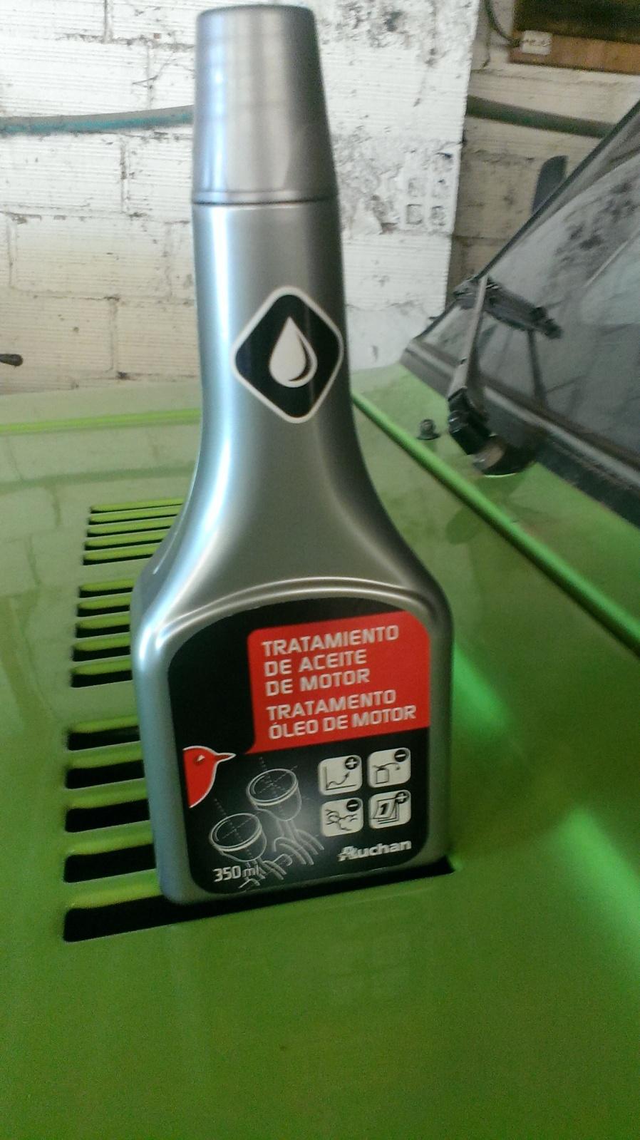 Limpieza del motor facil y nuevo aceite ( recomendado para niva 1600/1700) 28u019w