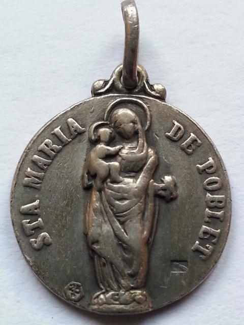 Sta. Maria de Poblet / Escudo de Poblet S-XX  (MAM) 28v7n4