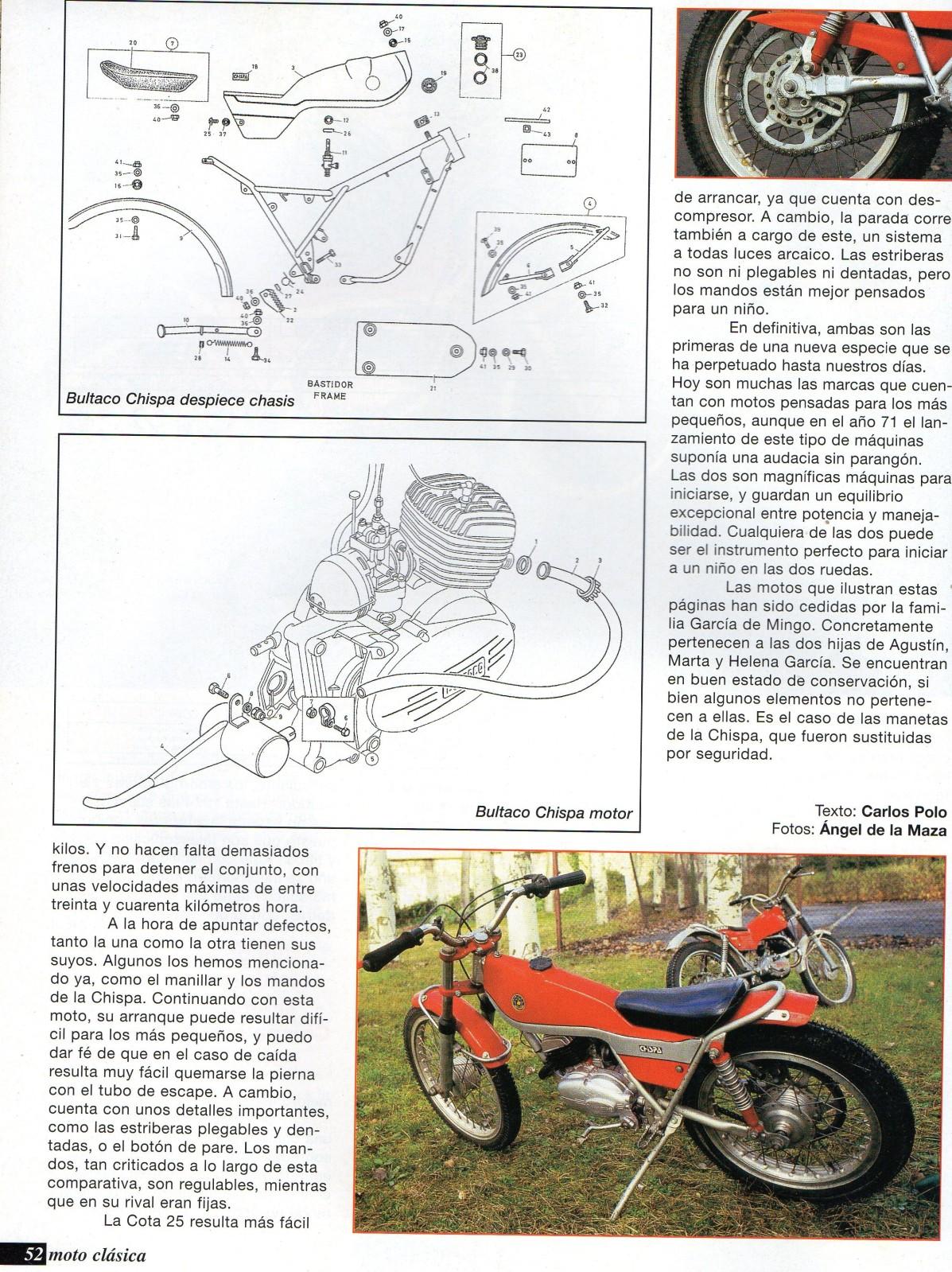 Comparativa Cota 25 con Bultaco chispa 299820