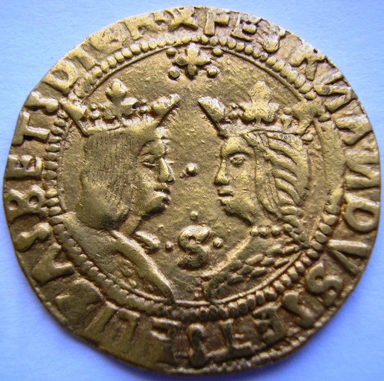 Doble excelente a nombre de los Reyes Católicos 29m0fg5