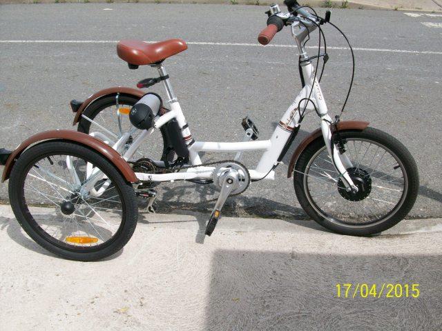 Proceso electrificación triciclo 2cf6wdc