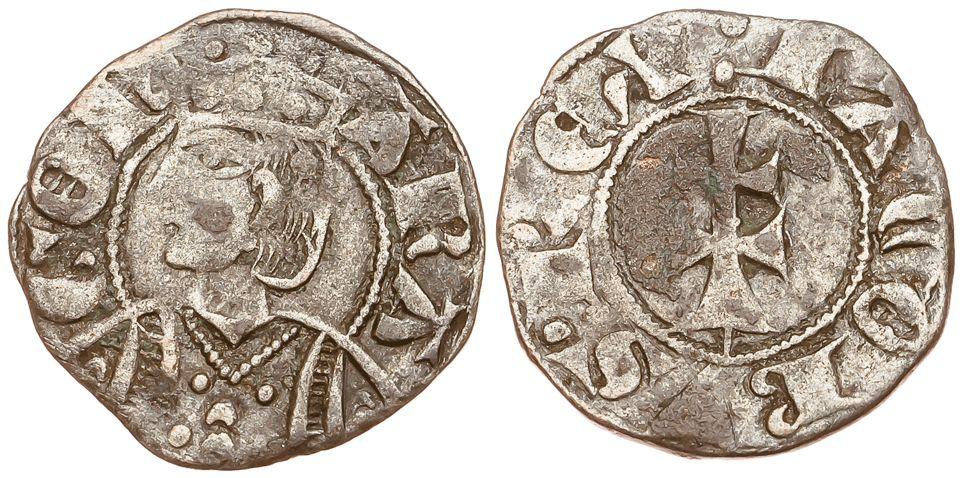 Diferencia entre el dinero de Aragón de Jaime I y el de Jaime II 2cgo2vn
