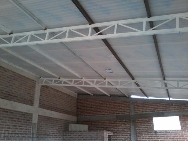 Techo de galpón 11 x 7 metros cabriadas de estructural 2dgkvg9