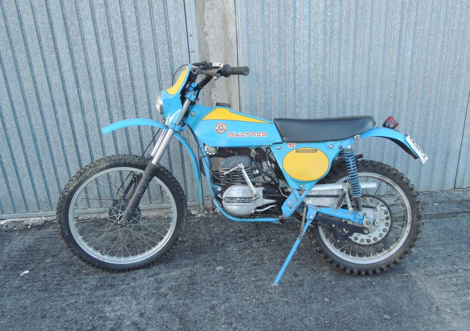 Bultaco Frontera - La Fronterita De Rafa 2e33o7s