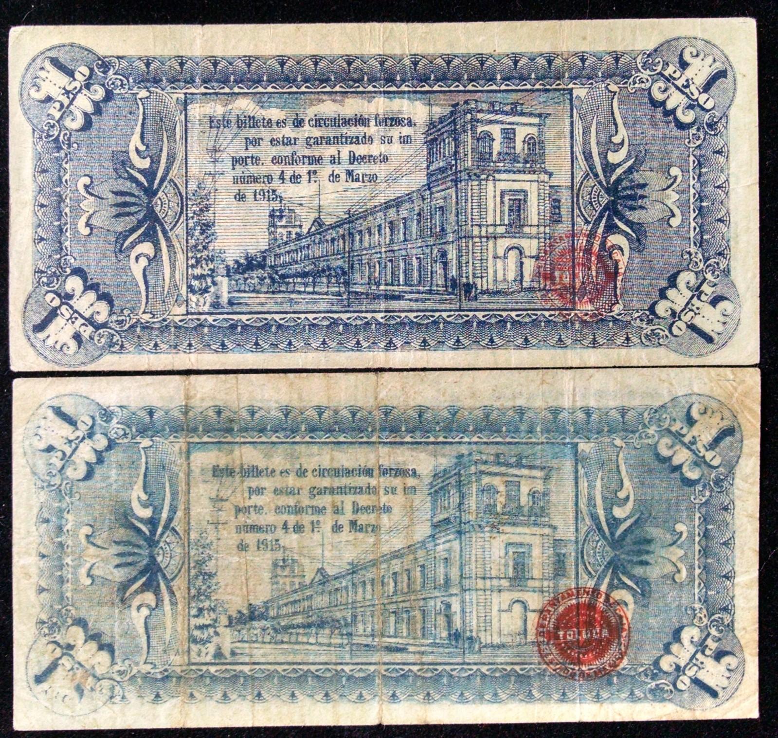 1 peso 1915 Mexico 2efqc7m