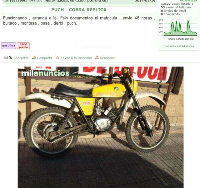 Puch Cobra - Transformaciones De MC75 Y TT A Réplica 2hz4gly