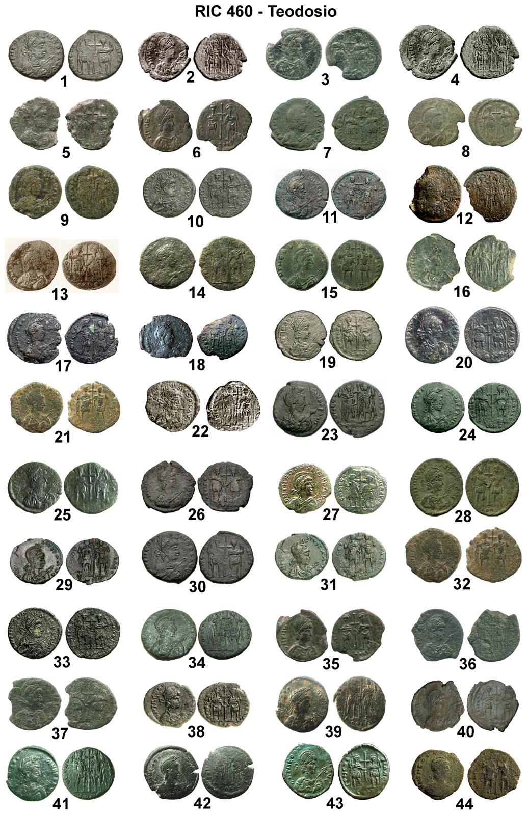 Nummus de Valentiniano III 2i8ki13