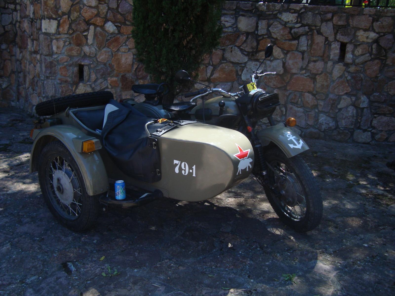 XI concentracion de motos antiguas en Alberuela de tubo (Huesca) 2ibm71d