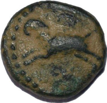 AE de Bronce atribuido a Nectanebo II, Faraon de la Dinastía XXX de Egipto 2jcx6i9