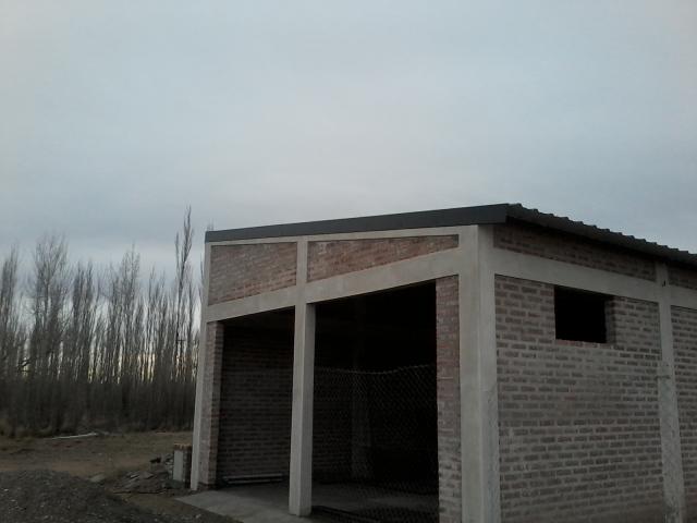 Techo de galpón 11 x 7 metros cabriadas de estructural 2m7unn5