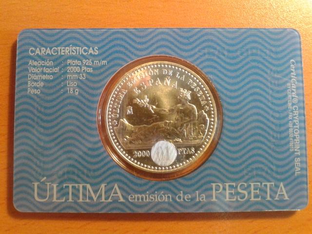 La peseta, testigo de la Historia 2ml79u