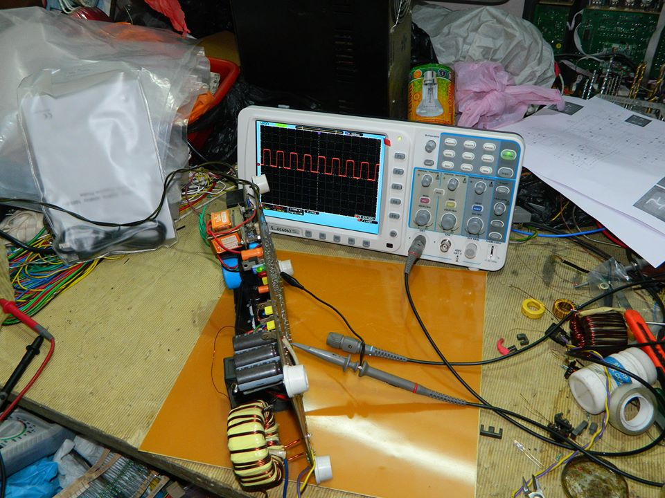 2.5kw smps using TL494 2mn24ah