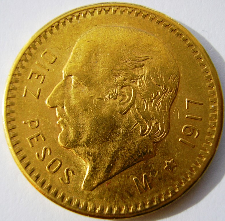 Méjico 10 pesos 1906 2mzflsz
