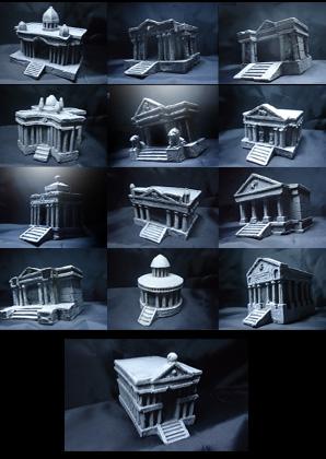 [Venda ] 12 casas miniatura Santuário 2nbsvg2