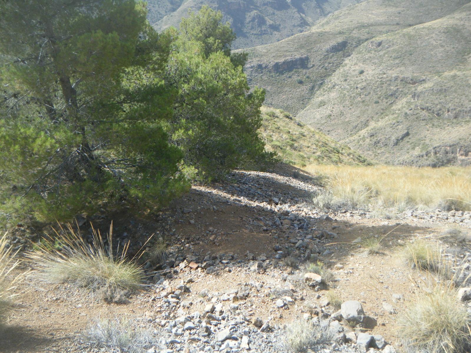 ¿ Mina Ora pró novis? Cerro Quintana, Canjáyar, Almeria, Andalucia, España 2nv412a