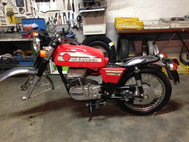 Recuperar Bultaco mercurio 175 GT 2q05yrt