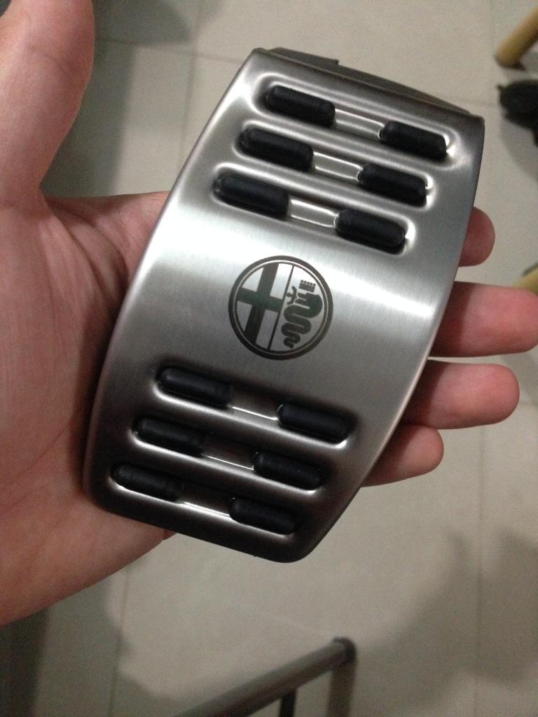 Protezione per pedaliera in alluminio 2rr2zvn