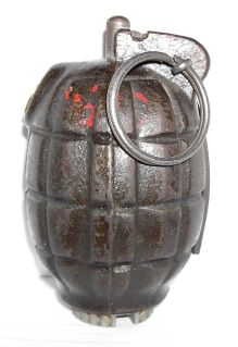 Ручная противопехотная оборонительная граната Ф-1 (макет массо-габаритный). 2s0lgg5