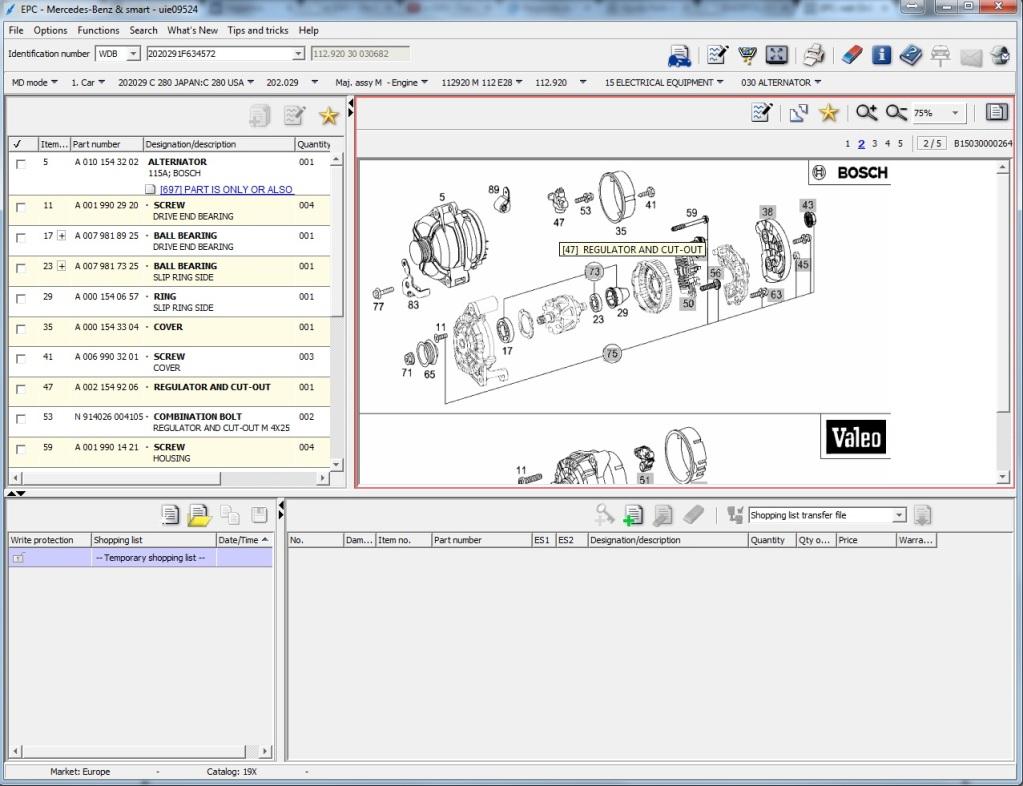 Ajuda Relé de Sobrecarga, Controle de estabilidade (ASR) e reset avarias Star Diagnósis (C280 98) 2v33txg