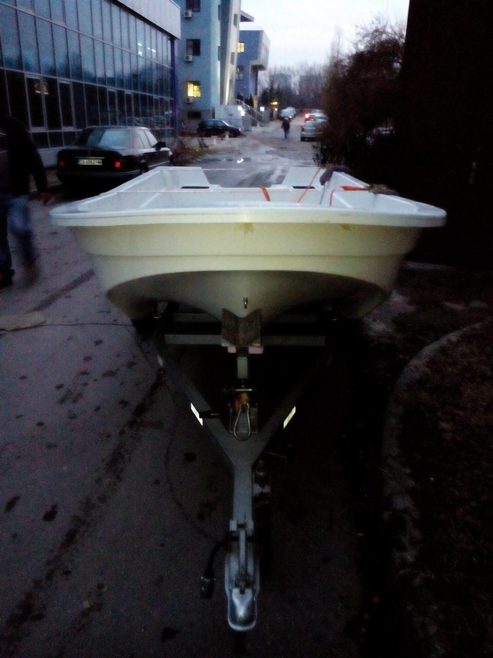 Стъклопластов тримаран Made in Bulgaria 2zi908g