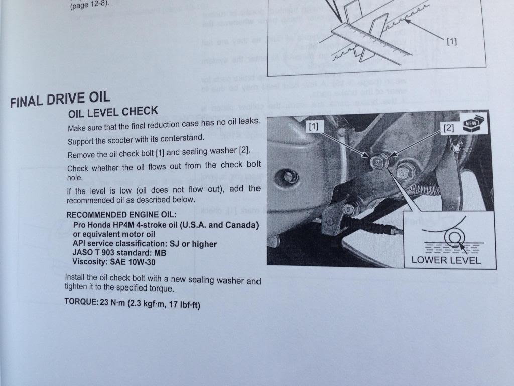 Aceite de la Transmisión encontrado 30m4mfl