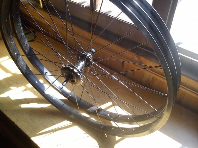 Sólo es una idea... llantas FAT bike caseras con aros de mtb 30s8qya